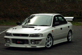 CS976FLK1/2 - Charge Speed 1995-2001 Subaru Impreza GC-8 Version 1 With Type-2 Side Skirts Full Lip Kit