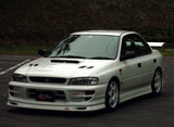 CS976FL2 - Charge Speed 1995-2001 Subaru Impreza GC-8 Version 5 T-1 Front Spoiler