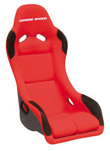 EXF02 - Charge Speed Bucket Racing Seat EVO X Type FRP Red