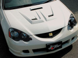 CS207HFV - Charge Speed 2002-2006 Acura RSX DC-5 FRP Vented Hood