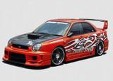 CS978FKSW - Charge Speed 2002-2003 Subaru Impreza GD-A Round Eye Type-2 Super GT Wide Body Full Kit