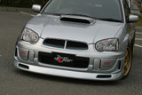 CS977FL - Charge Speed 2004-2005 Subaru Impreza GD-B Peanut Eye Latter Model Front Lip