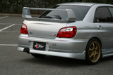 CS977RS - Charge Speed 2004 Subaru Impreza GD-B 4Dr. Peanut Eye Latter Model Rear Skirt