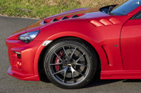 Charge Speed 2013-2020 Subaru BR-Z ZC-6/ Scion FR-S FT-86/ Toyota 86 ZN-6 Model FRP 5MM Each Side Front Fenders With Duct (Japanese FRP) Pair