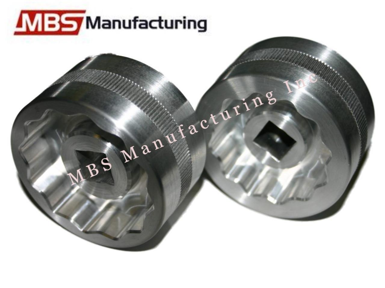 Ducati Aluminum 46/41mm Rear Axle Nut Socket Tool