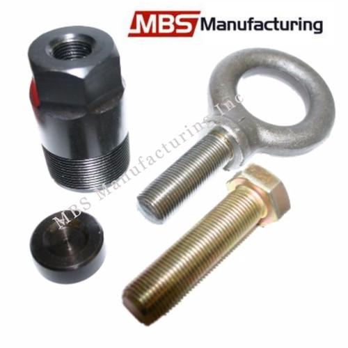 "1 1/2""-16 Flywheel Puller & Lift Eye Ring for Mercury Mariner, Force, & Yamaha"