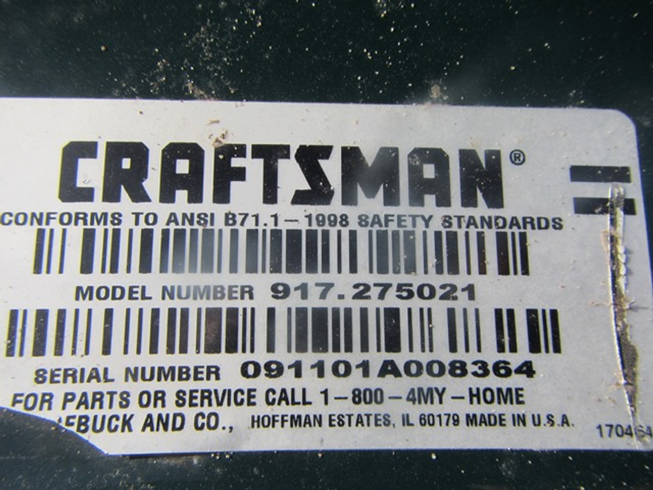 Sears Craftsman GT-3000 - 008364