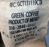 New Arrival Mexican Huatusco El Santo Green & Roasted Coffee