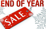 End of the Year clearance event 10% off all coffee and Tea