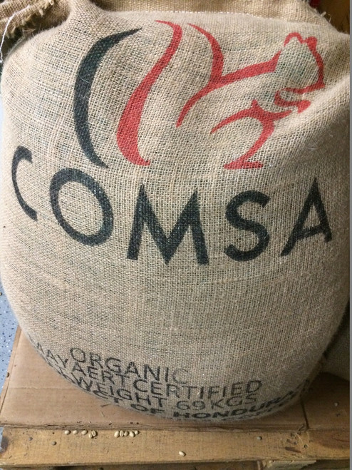 Honduras COMSA Organic Natural Process Marcala SHG Fair Trade Green Coffee Beans