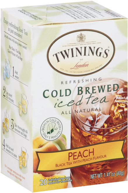 Peach Cold Brewed Iced Tea Twinings of London