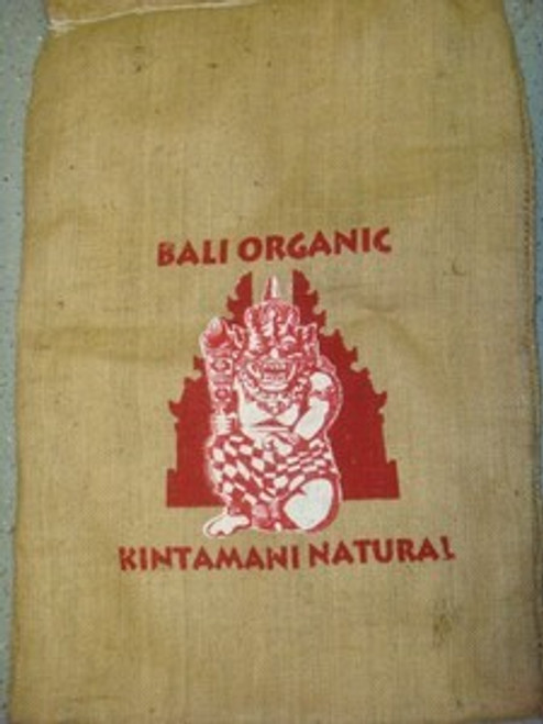 Bali Organic Kintamani Natural Green Coffee Beans