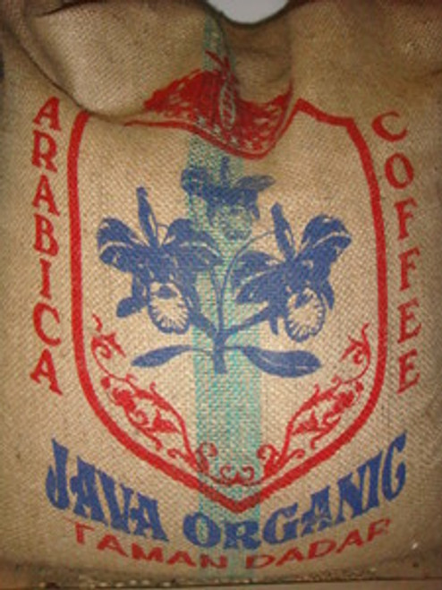 Java Taman Dadar Organic Green Coffee Beans