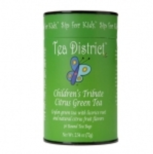 Citrus Green Tea Childrens Tribute Tea District