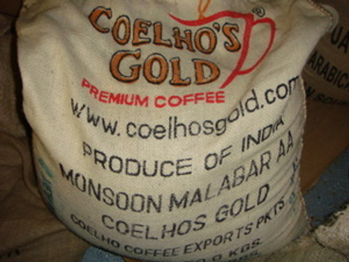 Indian Monsoon Malabar AA Green Coffee Beans