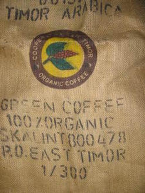 East Timor Cooperative Cafe Timor (CCT) Organic Fair Trade SHG Green Coffee Beans