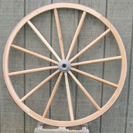 Heavy Wooden Wagon Wheels