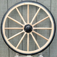Rubber Tire Wagon Wheel