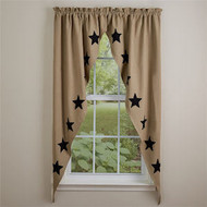Taupe & Star Black  #400B