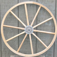 Economy Wooden Wagon Wheel