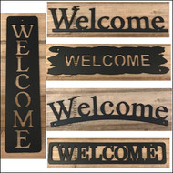 Metal Welcome Signs