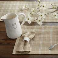 Fieldstone Plaid -  Cream  #458C