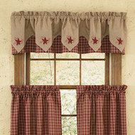 Sturbridge Embroidered Point Valances