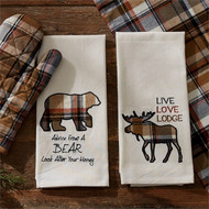 Wildlife Applique Dishtowel