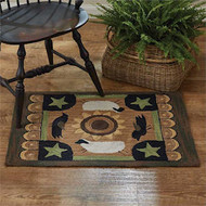 Park Designs Hooked Rugs and Chair Pads
