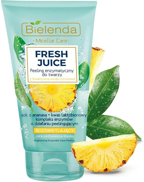 Bielenda Fresh Juice Face Peeling Wash Exfoliator-150 g