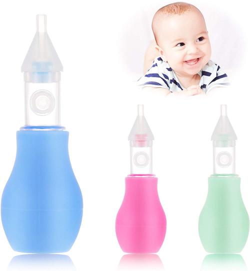 AKlamater Reusable Silicone Nasal Congestion Baby Aspirator