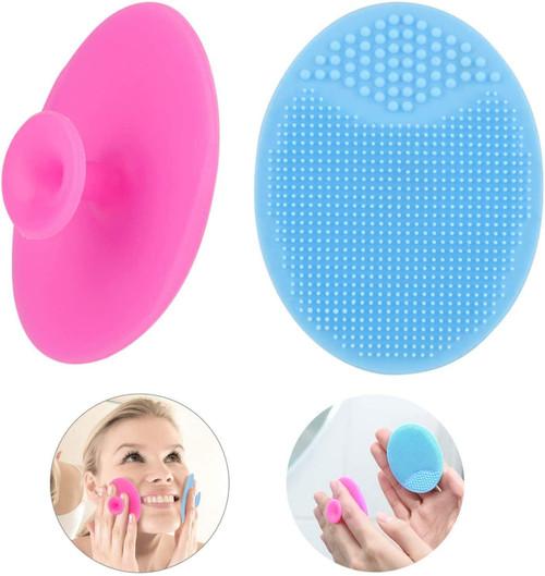 Baby Bath Dry Skin Ultra Soft Silicone Brush - 2 Pack