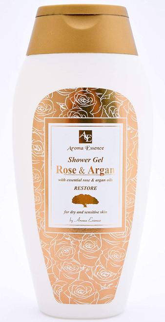 Argan and Rose Oil Shower Gel-250ml