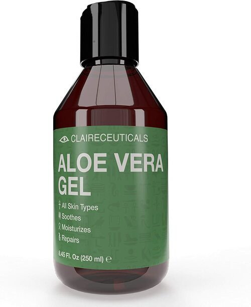 CLAIRECEUTICALS Pure Aloe Vera Gel for Face-250 ml