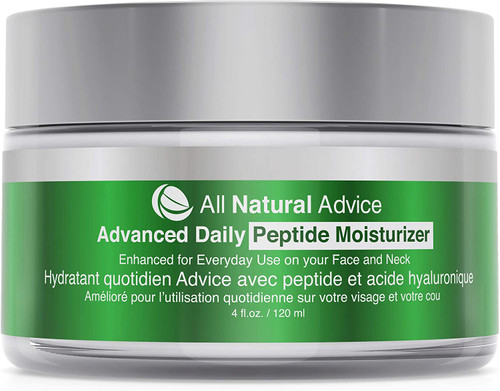 Advanced Daily Moisturizer with Peptide and Hyaluronic Acid-120 ml