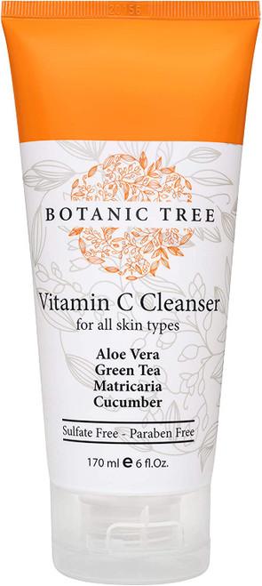 Botanic Tree Vitamin C Face Wash-Anti Aging Facial Cleanser-6oz