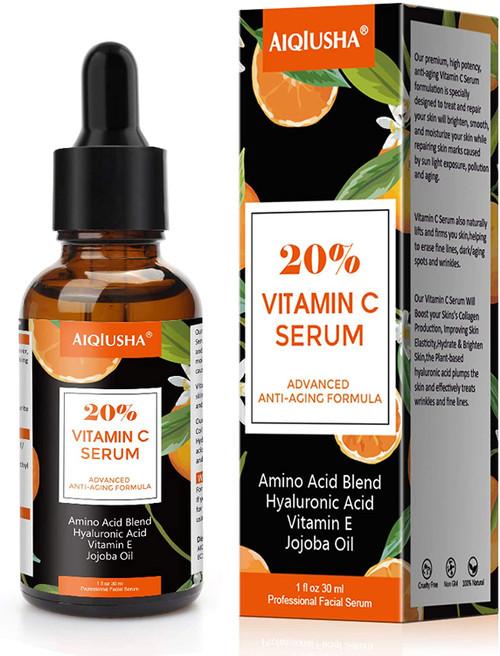 20% Vitamin C Serum For Face-1 oz