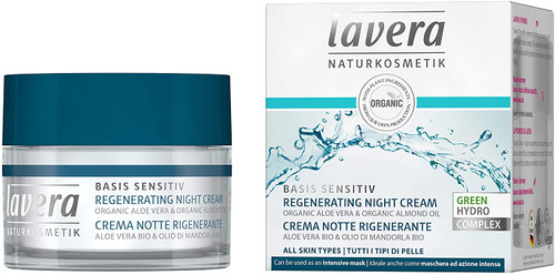 lavera Basis Sensitiv Regernerating Night Cream-50ml