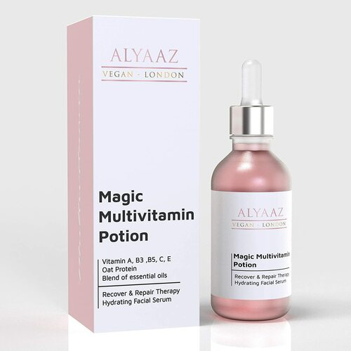 Alyaaz Vegan Anti-Aging Multivitamin Face Serum-30ml