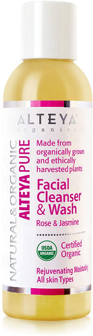 Alteya Organic Facial Cleanser & Wash Rose and Jasmin-150ml