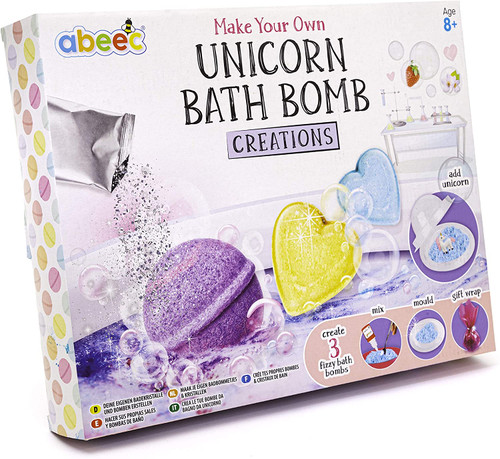 abeec Unicorn Fizzy Bath Bomb Making Kit for Kids