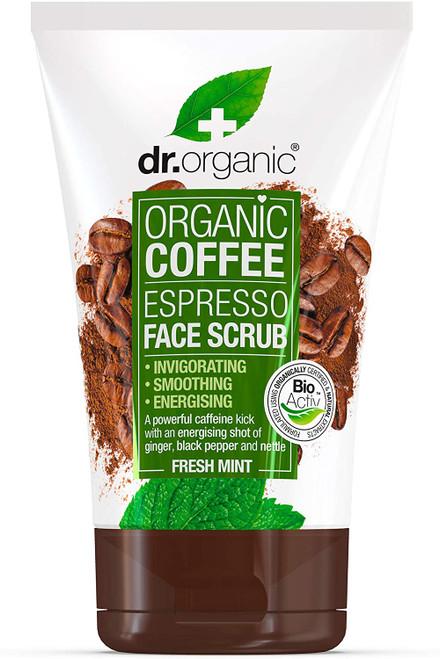 DR ORGANIC Coffee Mint Face Scrub