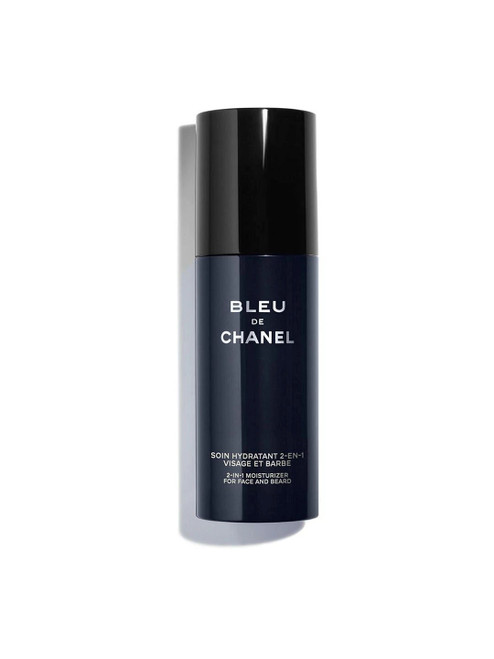 CHANEL Bleu De for Face and Beard CHANEL 2-in-1 Moisturiser-50ml