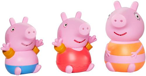 Toomies Mummy Pig, Peppa & George Bath Squirters Float Play Set