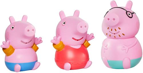 Toomies Daddy Pig, Peppa & George Bath Squirters Float Play Set