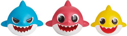 Shark Family Bath Squirt Toy - 3 Pcs