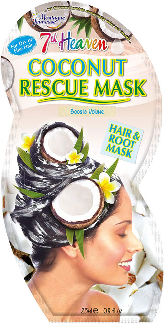 7th Heaven Rescue Hair & Root Mask-Coconut Protein