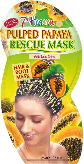 7th Heaven Rescue Hair & Root Mask-Pulped Papaya