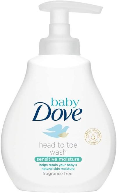 Dove Baby Sensitive Skin Head to Toe Body Wash - 200ml