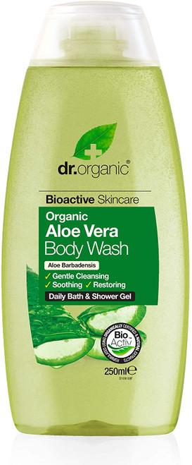 Dr Organic Aloe Vera Soothing Body Wash - 250ml